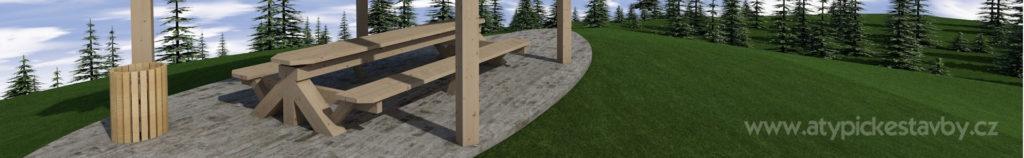 mobiliář lavičky